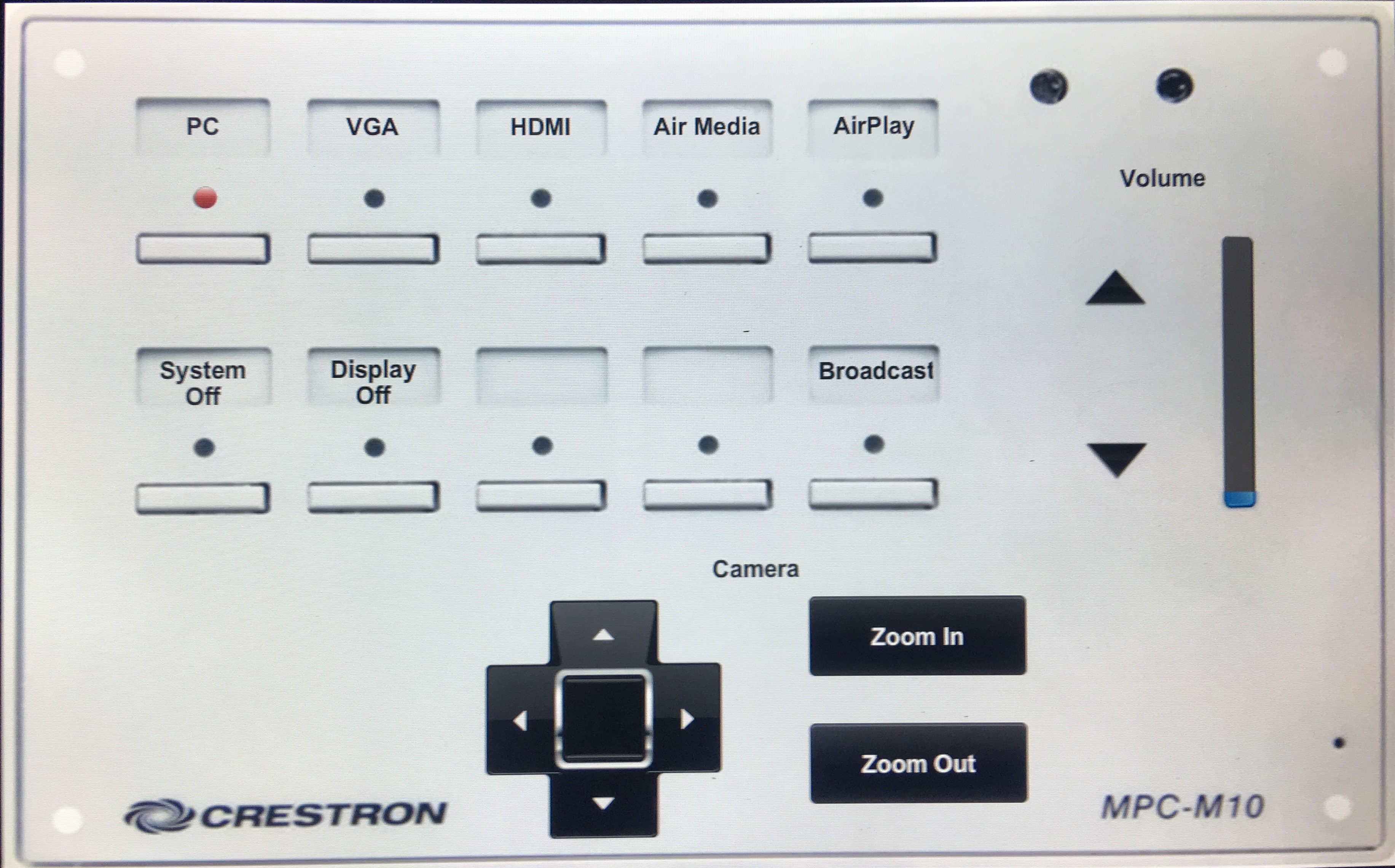image depicting dls 209 crestron unit instructors station