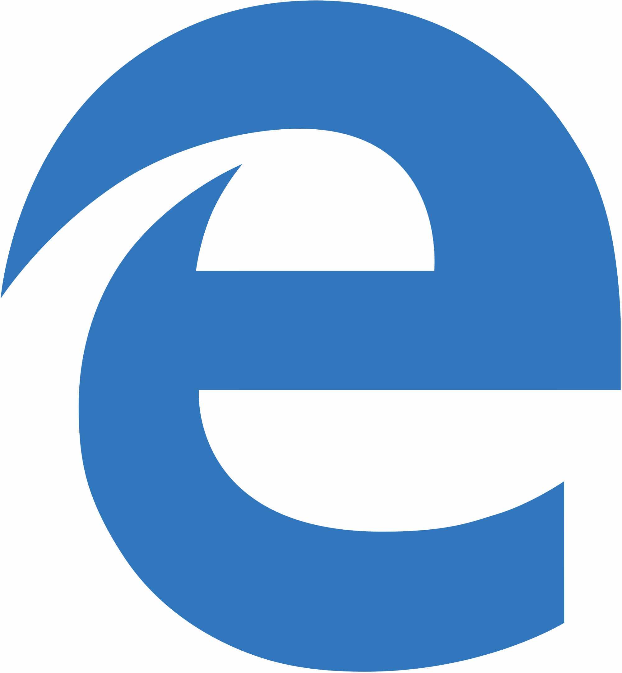 image depicting the microsoft edge icon
