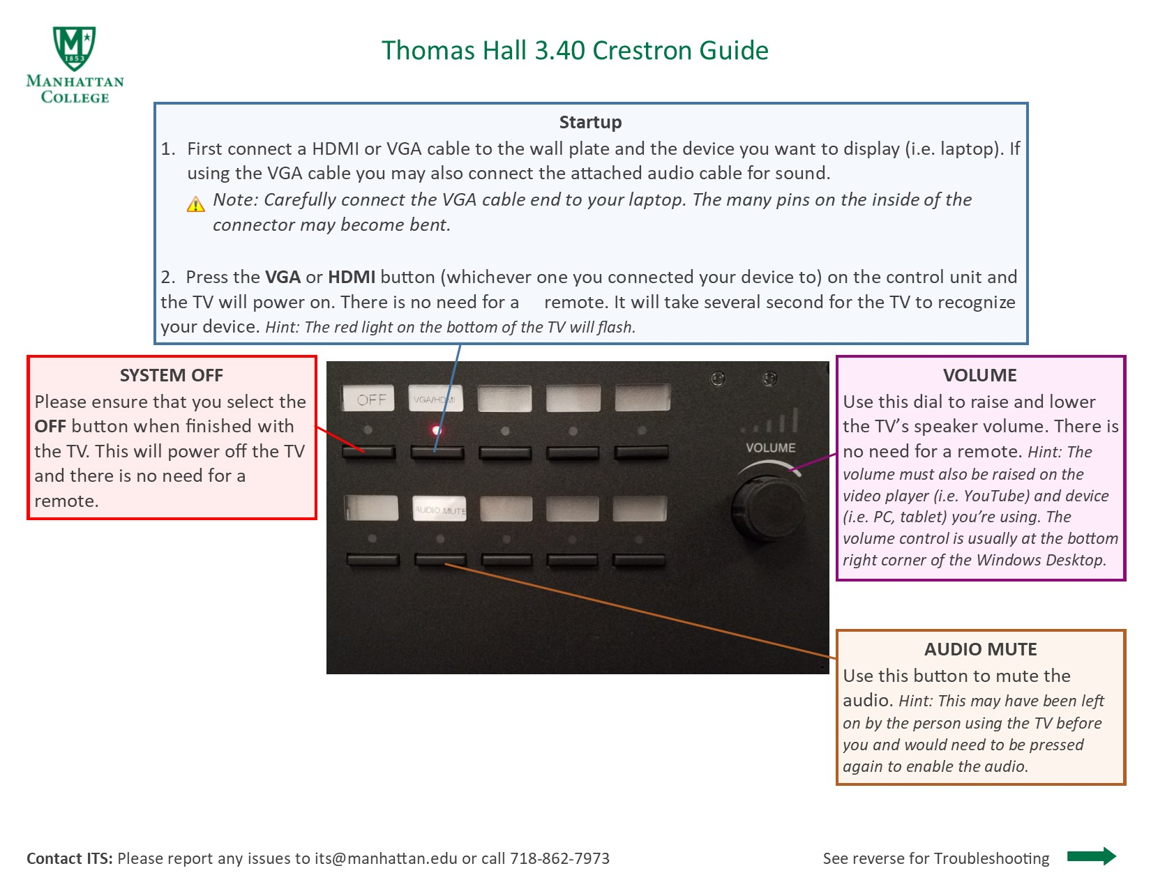 image that depicts the podium guide for thomas hall 3.4